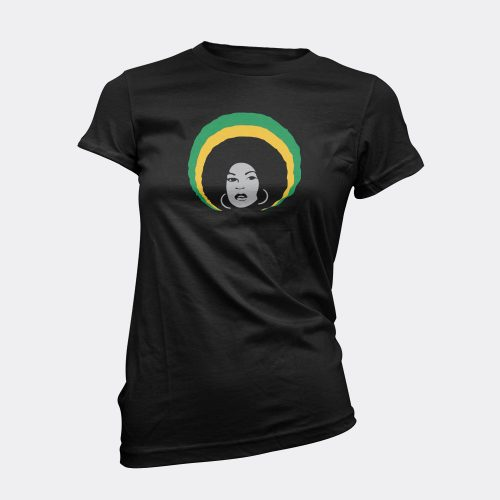 Power in the Afro t-shirt