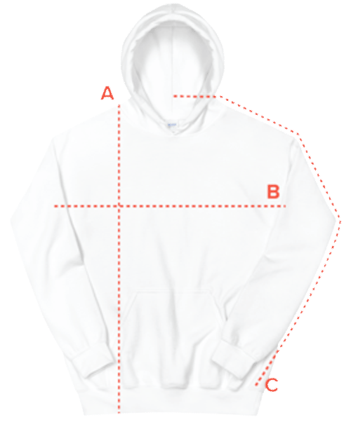 hoody size guide