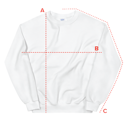 sweatshirt size guide