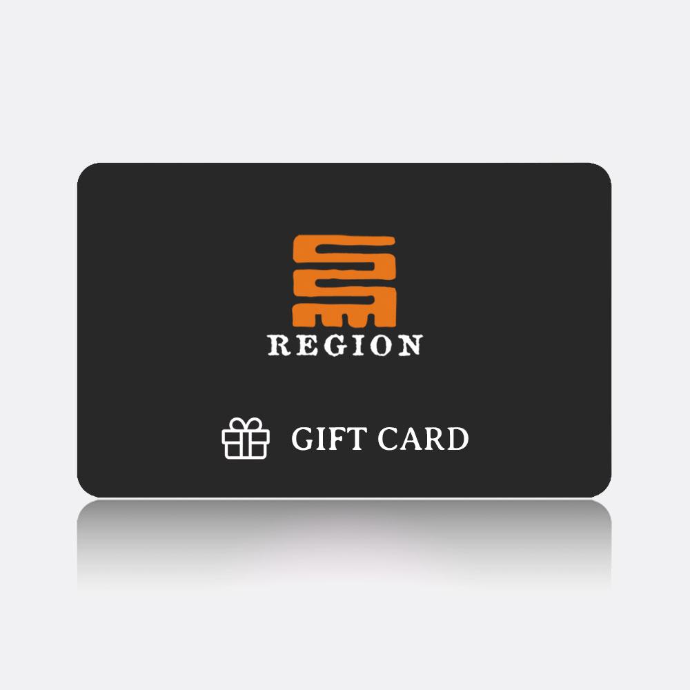 region gift card